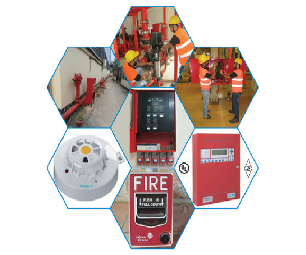 Automated Fire Protection System (AFPS)